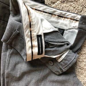 EXPRESS Lightweight grey trousers